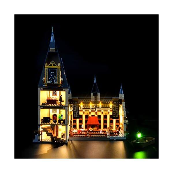 LIGHTAILING Set di Luci per (Harry Potter La Sala Grande di Hogwarts) Modello da Costruire - Kit Luce LED Compatibile… 1 spesavip
