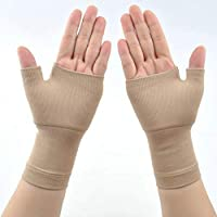 AmandaJ Breathable Wrist Thumb Support Brace - Carpal Tunnel Splint - Ideal for Thumb Injuries, Arthritis, Fractures and Sprains