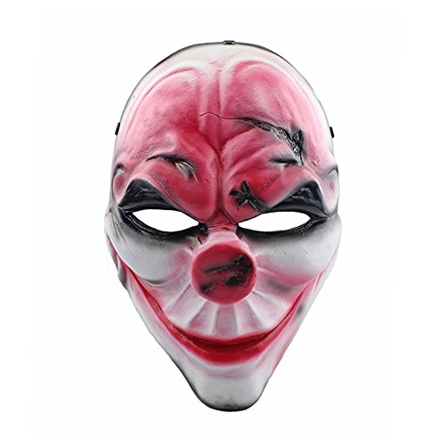 CCOWAY Halloween Masken, Horror Cosplay Party Masken, Scary Maske Party Kostüme, Karneval Kostüm Fasching ()