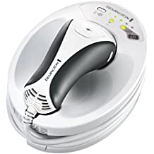 Remington IPL6250 i-Light Essential - Depiladora de luz pulsada, tecnología Propulse, color blanco y negro