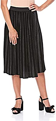 2Xtremz Velour Pleated Skirt for Women