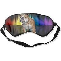 English-Bulldog 99% Eyeshade Blinders Sleeping Eye Patch Eye Mask Blindfold For Travel Insomnia Meditation preisvergleich bei billige-tabletten.eu