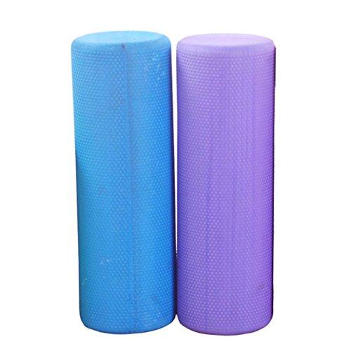 Ouneed® 45cm Eva Textured Yoga Foam Roller Exercise Violet