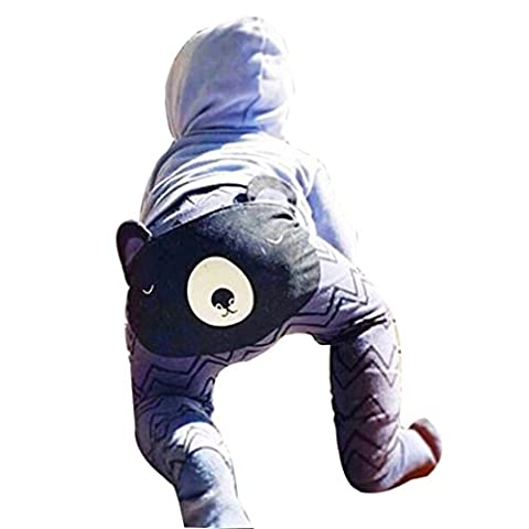 Bekleidung Jungen Xinan Harem Pants Fox Molding Baby Hose (90, ❤️Grau)