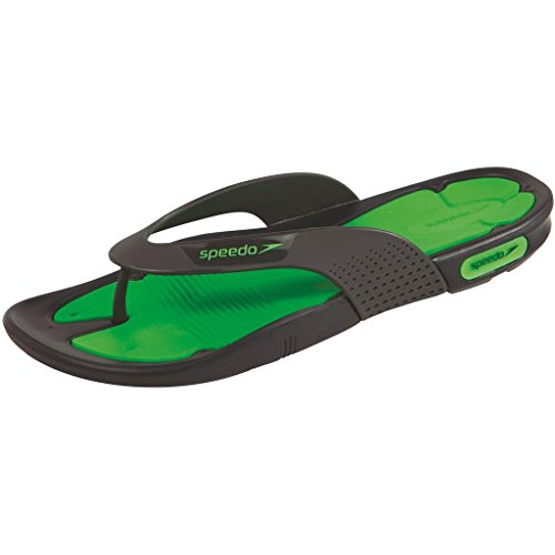 Speedo Pool Surfer THG AM STRAND SANDALEN Verde Fluo/Grigio Ossido