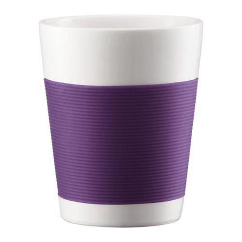 Bodum 10109-278 Canteen 2 Stück Tasse, doppelwandig, 0.2 l, Porzellan