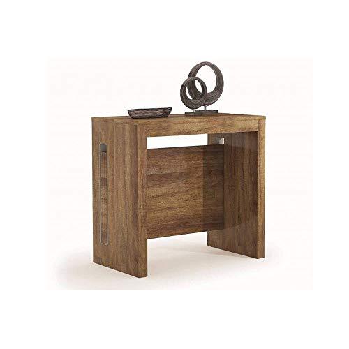 Terraneo Konsole ausziehbar Grandezza Eiche dunkel - Erweiterbar Konsole Tisch