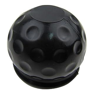 AHK Anhängerkupplung Abdeckung Schutzkappe Schutz Kappe in Schwarz Golfball