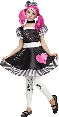 Broken Doll Child Costume Medium 8-10