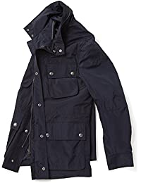 Vedoneire Mens Water Resistant Casual Jacket (3097) Navy Rain Coat
