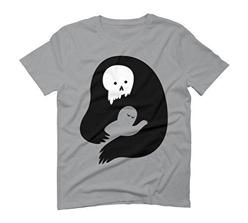 Death's Embrace Men's X-Large Opal Graphic T-Shirt - Design By Humans (Hug 883)