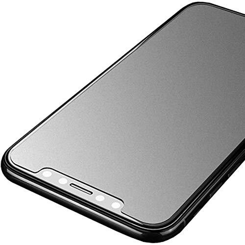 JELLYEA Matt Pellicola Protettiva per iPhone XS/X Anti-riflesso Anti-graffio Anti-Bolla Display Proteggi Schermo 9H Vetro Temperato per X/XS,5.8'