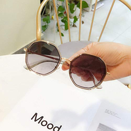Sonnenbrille Damen Persönlichkeit rundes Gesicht schlanke Sonnenbrille weiblichen koreanischen Mode UV-Schutz Sonnenschirm Brille Outdoor-Sport eyewear-1