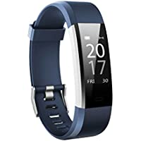 Toksum Boost 2® Fitness Activity Tracker Smart Wristband | Wearable Pedometer Watch Bracelet with Sleep & Heart Rate Monitor & GPS | For Kids, Women and Men | For iPhone & Android