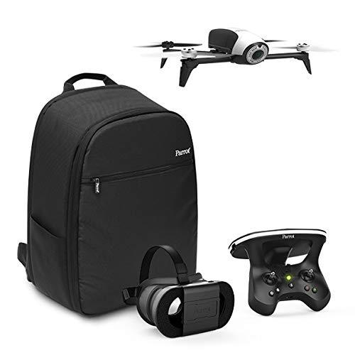 Parrot - Pack Drone Quadricoptère Bebop 2 + Lunette FPV + Skycontroller 2 - Blanc + Sac à Dos +...