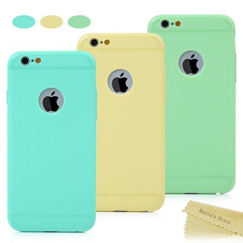3x iPhone 6 6s Custodia Silicone UltraSlim (4.7