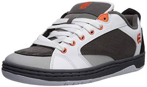 Etnies Herren CZAR Zar, Grey/White/Orange, 45 EU Orange Multi Leder