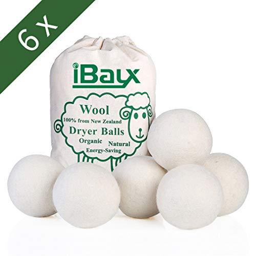 Bolas secador lana - bolas secador reutilizable caída