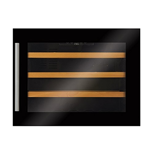CDA FWV451BL High Fully Integrated Compact In-Column 45cm Wine Cooler In Black