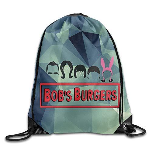 HLKPE Creative Design Bobs Burgers Drawstring Backpack Sport Bag for Men and Women Jordan Womens Sweatshirt