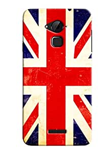 Clarks England Flag Hard Plastic Printed Back Cover/Case For Coolpad Note 3