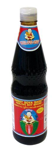 Healthy Boy Sojasauce, süß, 2er Pack (2 x 700 ml)