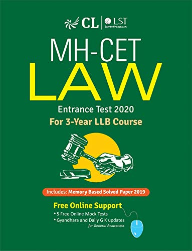 MH-CET LAW for 3 Years LLB Course 2020