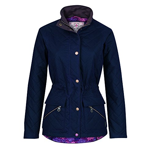 Jack Murphy Womens/Ladies Omogen Waxed Cotton Shower Resistant Jacket Heritage Navy