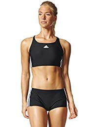 adidas Damen Essence Core 3-Streifen Bikini Set