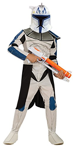 Kostüm Captain Star Wars Rex - Rubie 's Offizielles Disney Star Wars Clonetrooper Rex, Kinder Kostüm - Medium