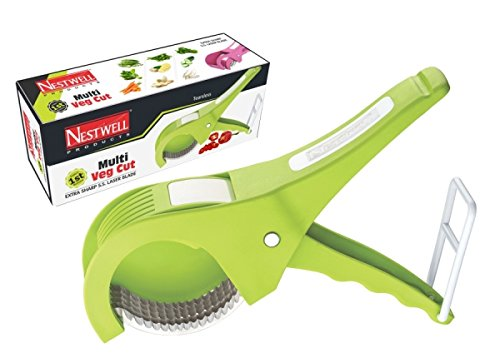 Vepson Nestwell Vegetables & Fruits Cutter Multi Veg Cut Chopper Slicer (Multicolor)