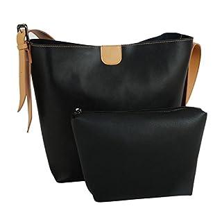 AGLAIA Women's Adjustable Strap Leather Shoulder Bag Casual Handbag