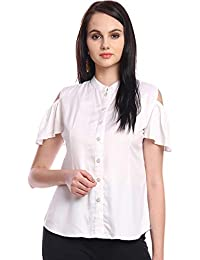 0a941c64031df Itsyor Off Sholder White Color Casual Shirt for Women