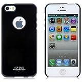 Coque pour iphone 5 rigide, fine noire