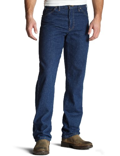 Dickies 42in. X 30in. Indigo Blue Straight Leg Jeans Arbeit 9393RNB 42x30 (Arbeit Jeans Denim)