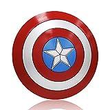 ZYER Escudo de Vestuario de Capitán América, Capitán de América, Talla única para Adulto,