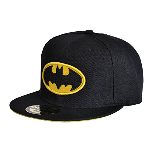 Batman Classic Logo Base Cap DC Comics schwarz