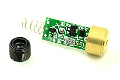 Q-BAIHE 650nm 100mW Red Laser Diode Module w/ lens for DIY from Q-BAIHE