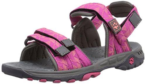 Jack Wolfskin GIRLS BAHIA, Mädchen Sport- & Outdoor Sandalen, Pink (rosebud 2099), 28 EU (10 Kinder UK)