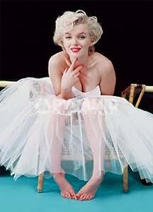 Carte postale - Marilyn Monroe Ballerine - Couleur - 10 x 15 cm - Pyramide