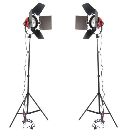 DynaSun Kit 2X Dj800 1600 W Illuminatore Compatto
