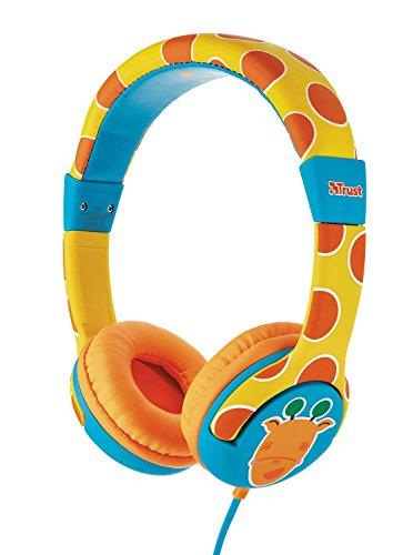Spila Cuffie per Bambini con Limitazione Volume Massimo Giraffe 0ca22cb15484