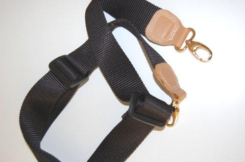 Breite Schulterriemen - Schultertragegurte - Tragegurte - Bandoulieren - Trageriemen - Schulterriemen versch. Farben u. Größen Braun/Stahl