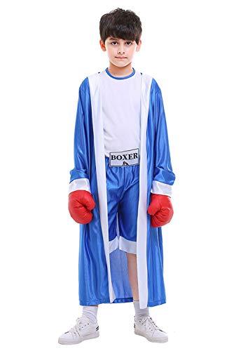 RedJade Kinder Kostüm Boxer Jungen ()