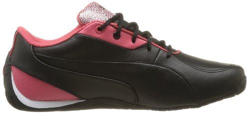 Puma - Drift Cat 5 Glitter Jr, Pantofole Bambina Nero (Noir (Black/Paradise Pink))