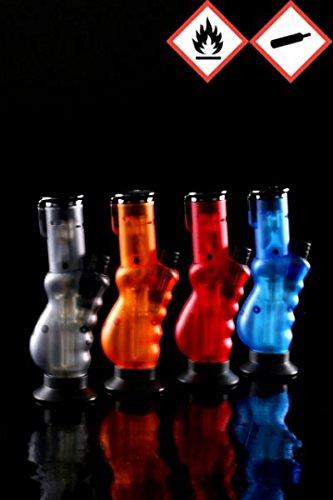 Atomic Bong Bunsenbrenner Feuerzeug mit 3er Jet-Flame, versch. Farben