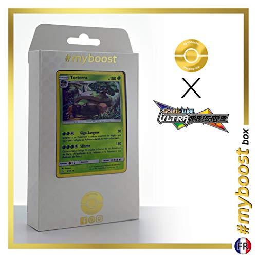 Torterra 9/156 Holo - #myboost X Soleil & Lune 5 Ultra-Prisme - Box de 10 Cartas Pokémon Francés