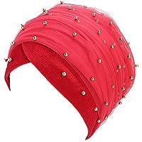 Gorras Mujer Invierno ❄ Sonnena Mujeres con Capucha Scaves Turban Cap Musulmán Hijab Wrap Head Bufanda Sombrero de Sombrero de Corbata