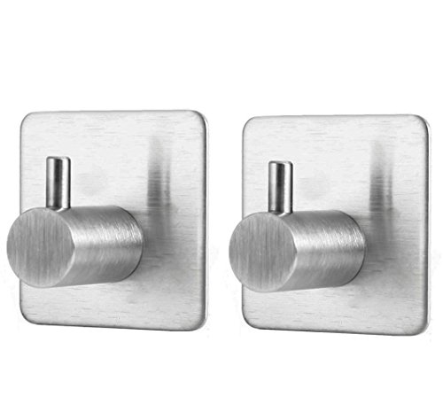 newcy-3m-hanger-self-adhesive-double-coat-towel-robe-hooks-with-heavy-duty-sus-304-brushed-stainless