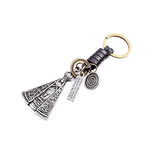 Metal-Figur Prinz Königin Mädchen Anhänger Federung Leder Schlüsselanhänger Niedlichen Auto-Kette Key Kappe Deckel Damen Tasche Handtaschen-Packtasche Charme - Eine Leichte Federung Anhänger